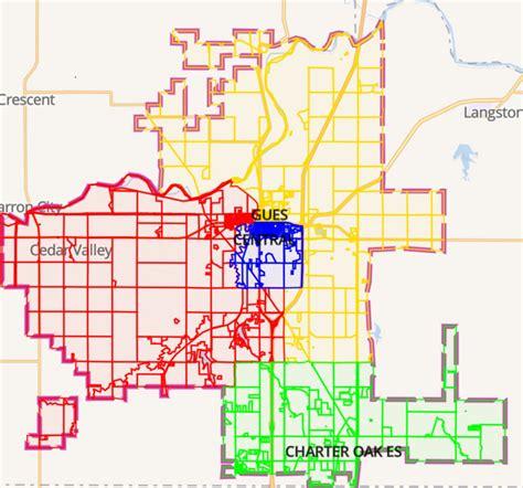 guthrie public schools school district boundary map effective nov