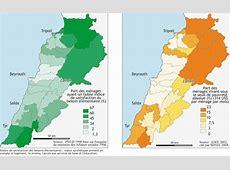 Atlas du Liban Chapitre 6 La société niveaux de vie