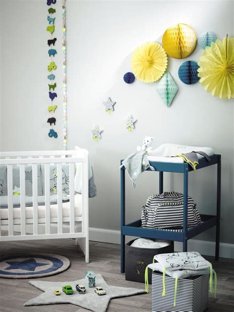 deco chambre bebe bleu gris bleu chambre bebe