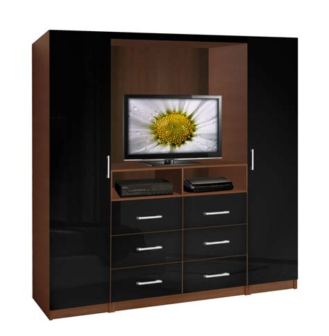 white length wall mirror aventa tv wardrobe wall contempo space