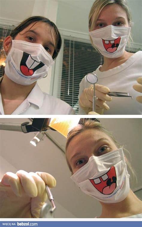 smieszne maski dentystyczne bebzolcom