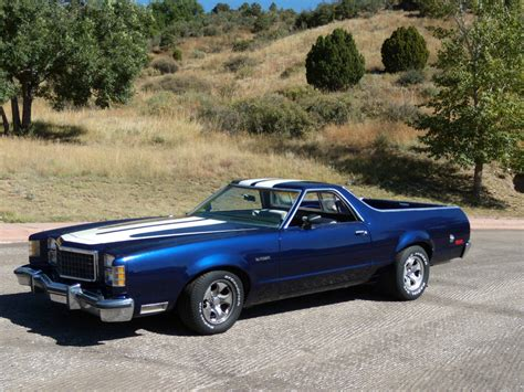 1979 ford ranchero gt muscle car 351 modified classic