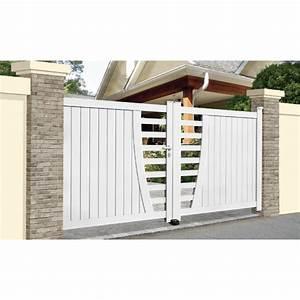 Portail Alu Coulissant 3m : portail aluminium frejus coulissant ~ Edinachiropracticcenter.com Idées de Décoration