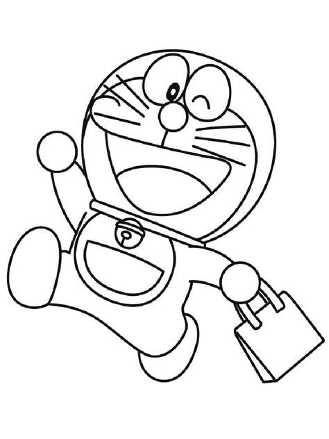 Coloring Doraemon by Doraemon Coloring Pages Free Printable Doraemon Coloring