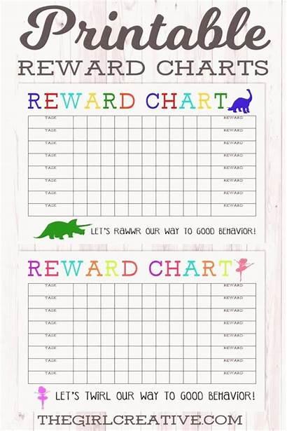 Chart Reward Behavior Star Charts Printable Rewards