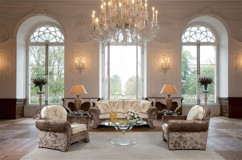 Wallpaper  Living Room, Hall, Chandelier, Furniture