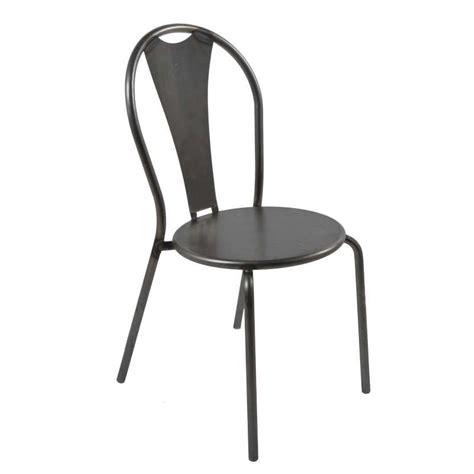 chaise en métal facile canap 233 style pour chaise industrielle en m 195 tal atelier 4 pieds tables chaises