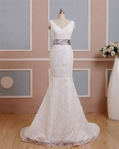2016 a line ivory wedding dresses c with with satin back With lace country wedding dresses