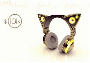 cat headphones axent wear cat ear headphones unleashes your inner feline