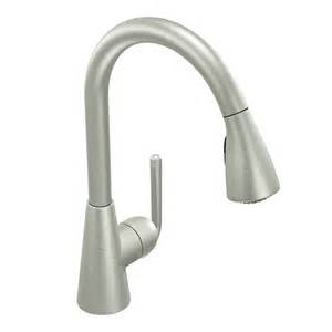 one kitchen faucet with sprayer moen s71708 ascent single handle pull sprayer kitchen faucet featuring reflex atg stores