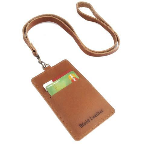 id card holder kulit gantungan id card kulit unik nid6 gantungan name tag toko id card kulit asli