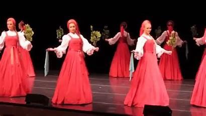 Russian Dance Dancers Folk Birch Traditional Air