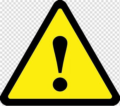 Caution Warning Triangle Yellow Symbol Transparent Clipart