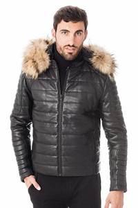 Doudoune En Cuir Homme : doudounes en cuir homme doudoune cuir hiver cuir city ~ Melissatoandfro.com Idées de Décoration