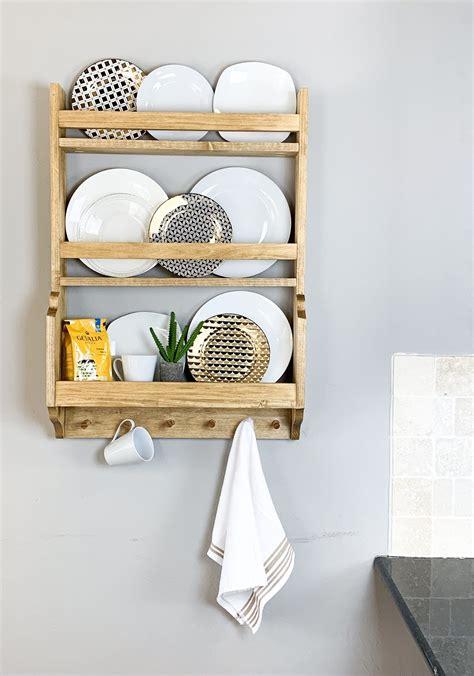 diy plate rack diy plate rack handmade home decor wood table diy