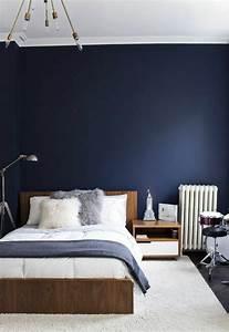 Schlafzimmer Vintage Style : schlafzimmer blau 50 blaue schlafbereiche die schlaf und erholung garantieren ~ Michelbontemps.com Haus und Dekorationen