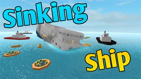 Sinking Ship Simulator Roblox by Sinking Ship Roblox
