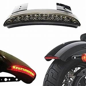 Ankia Motorcycle Chopped Rear Fender Edge Led Brake