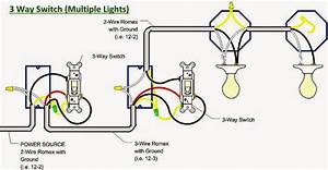 4 Way Switch Wiring Diagram Light In Middle