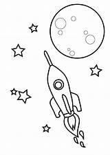 Coloring Spaceship Coloringtop sketch template