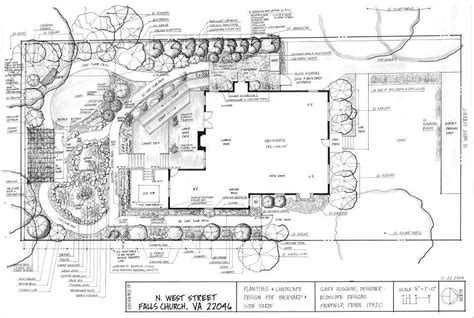 landscaping area landscape design plans exles