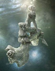 Ethereal Underwater Fashiontography: Zena Holloway Models ...