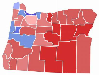 Election Oregon County Governor Svg Map Results