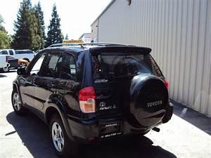 2002 Toyota Rav4 4 Door L Model 2 0l At Awd Color Black