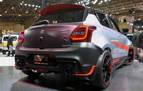 With a host of smart features to assist you and make driving easier and safer, this is a car that fills you with confidence and makes every journey more enjoyable. Ultra-Impressive Suzuki Swift Sport Katana Edition Debut ...