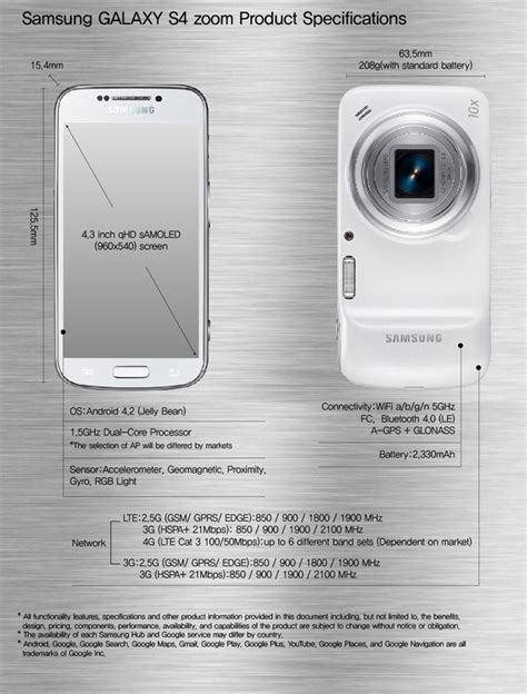 samsung announces  galaxy  zoom smartphone notebookchecknet news