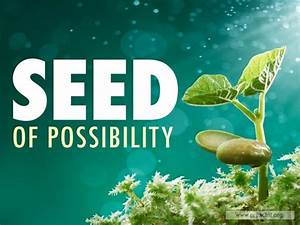 Sermon By Title  Seed Of Possibility