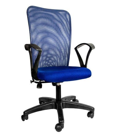 offer on hetal enterprises blue metal office chair price