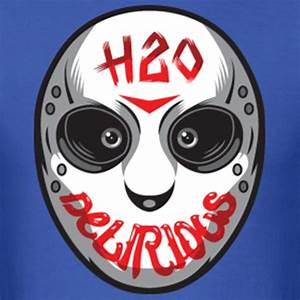 """""""H20 Delirious Hockey Mask"""" by Emmiddaugh Redbubble"""