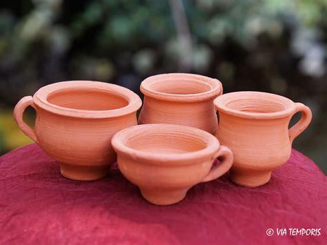 panier 騅ier cuisine ceramique gallo romaine petit vase votif avec anse via temporis
