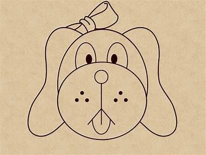 Draw Desenhar Dog Face Como Um Puppy