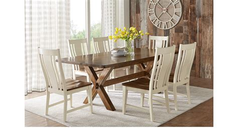 Twin Lakes Brown 5 Pc 72 In Rectangle Dining Room Rustic