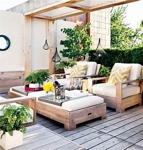 Terrassen Deko Modern : terrasse gestalten den au enbereich mit geschicklichkeit gestalten ~ Bigdaddyawards.com Haus und Dekorationen