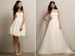 sweetheart neckline 2 in 1 wedding dress from david39s With convertible wedding dress