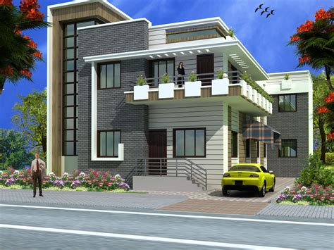 Modern Duplex (2 Floor) House Design.click On This Link