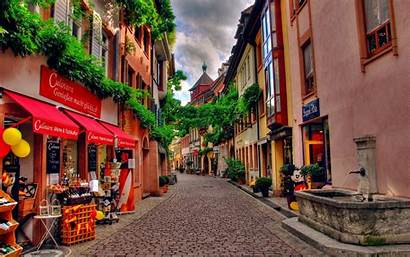 Town Street Wallpapers Cities Streets Towns Germany