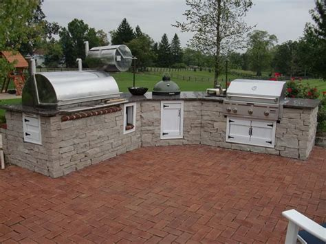 outdoor kitchen designs with smoker outdoor kitchen designs with smoker peenmedia 7238