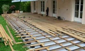 faire sa terrasse en bois dl menuiserie With faire sa terrasse en bois