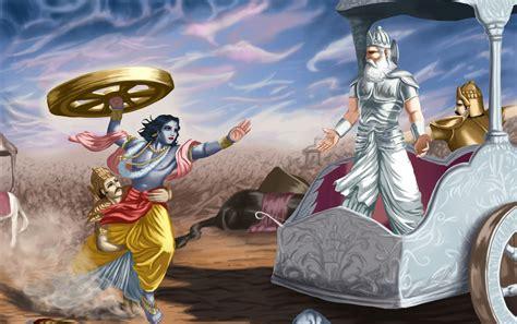 lord krishna  bhishma pitamah wallpapers