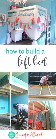 diy full size loft bed plans awesome woodworking