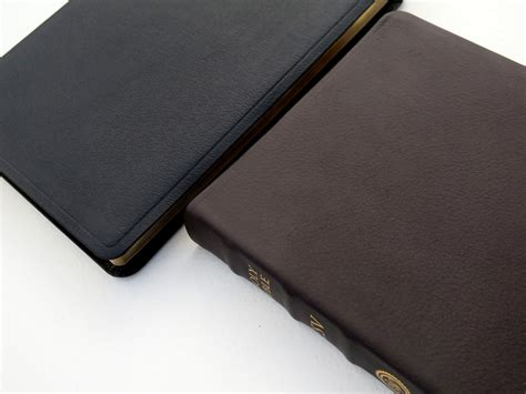 Crossway Esv Large Print Thinline Bible (top Grain Leather