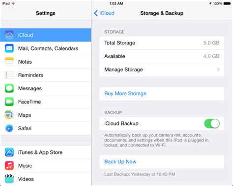 manage iphone storage how to free up icloud storage space
