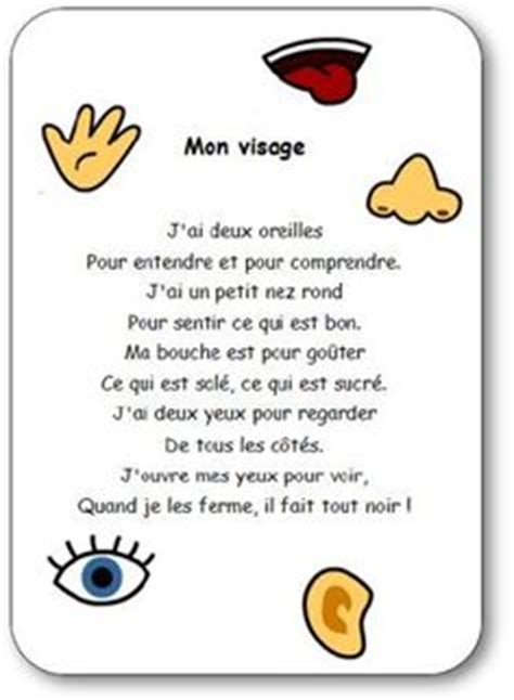 french vocab parts  body images teaching
