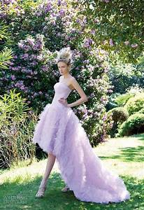 show off your girly side with pastel wedding dress With lilac dress for wedding
