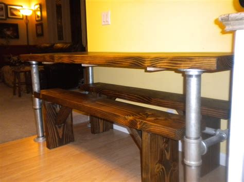 industrial kitchen table our x3 industrial farmhouse kitchen table