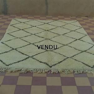 tapis beni ouarain laine epaisse origine maroc With tapis beni ouarain